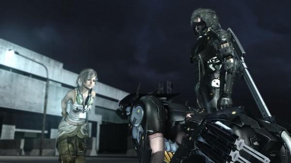 Metal Gear Rising Revengeance Raiden Sunny Wolf