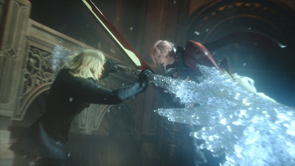 Lightning Returns Final Fantasy XIII Lightning Vs Snow