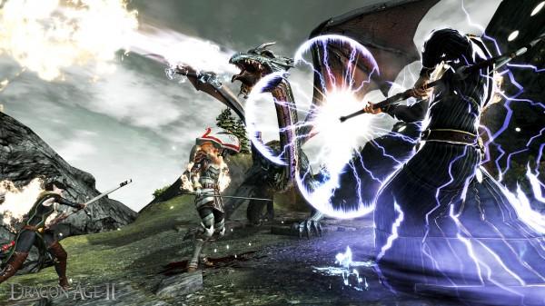Dragon Age II Mage Screenshot