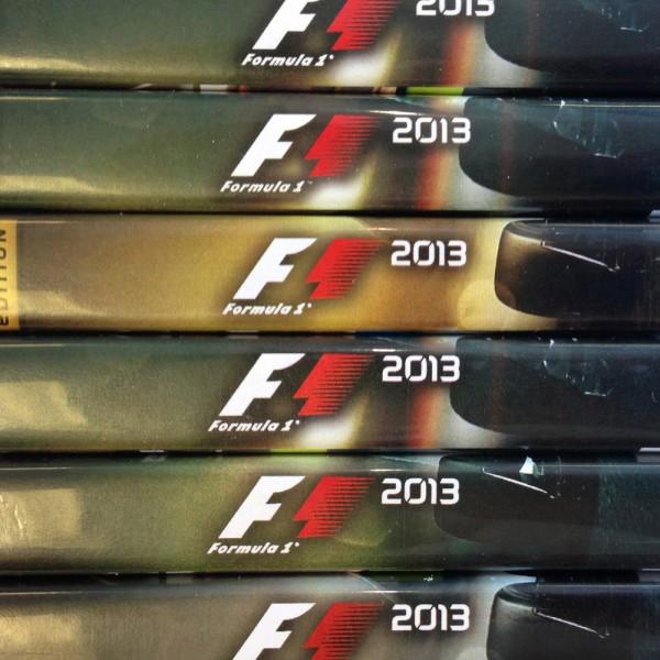 Formula 1 2013 Imagem Teaser