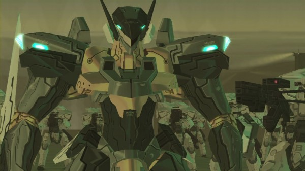 Zone of the Enders HD Collection Screen