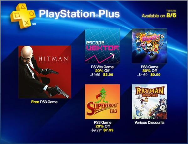 Playstation Plus Agosto 2013 - Hitman Absolution