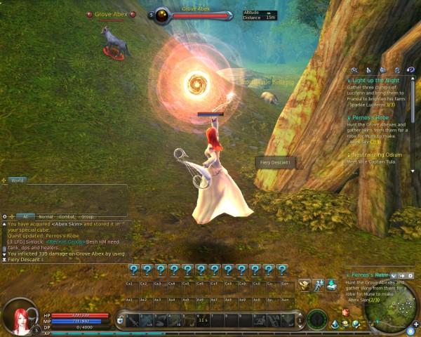 Aion Screenshot - Muse - Fiery Descant