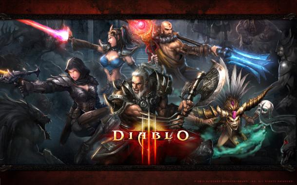 Diablo III - Wallpaper HD - Characters - 1920x1200