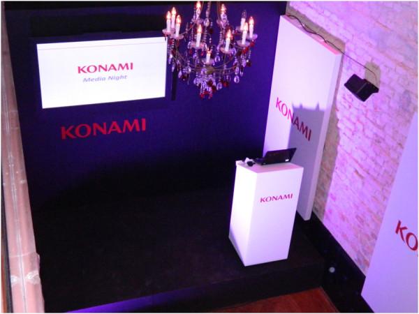 Konami Media Night Brasil