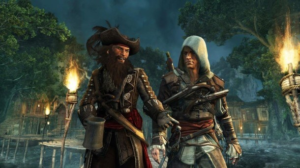 Assassin's Creed IV - Black Flag - Edward e Barba-Negra