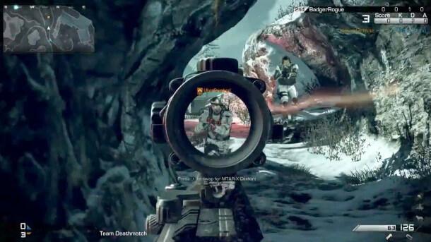 Call of Duty: Ghosts Multiplayer Screenshot