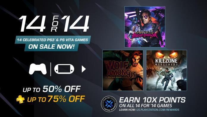 PlayStation Store Descontos - 14 Games - 2014