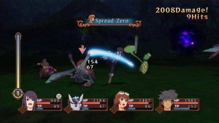 Tales of Vesperia - Battle Screenshot - Xbox 360
