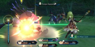 Tales of Xillia - PS3 Battle Screenshot