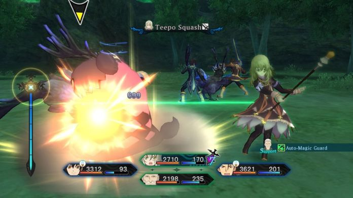 Tales of Xillia - PS3 Battle Screenshot