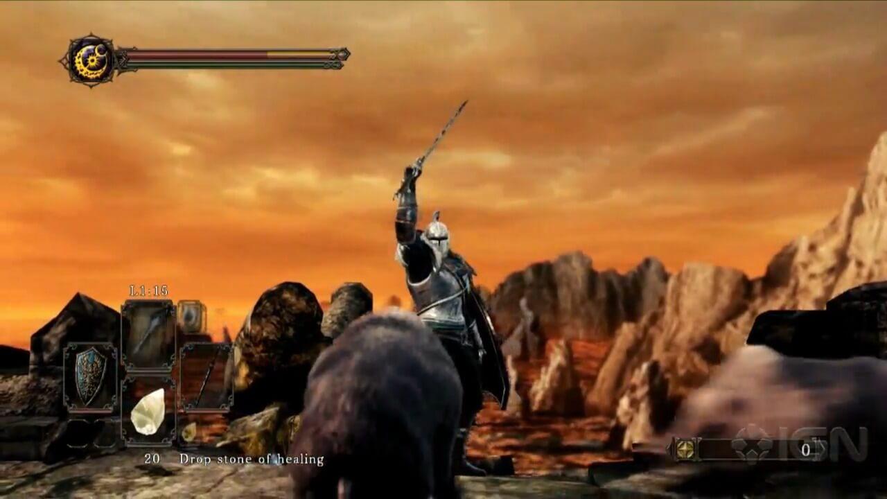 Dark Souls II - Guia de Troféus - Localização de todos os gestos (gestures)