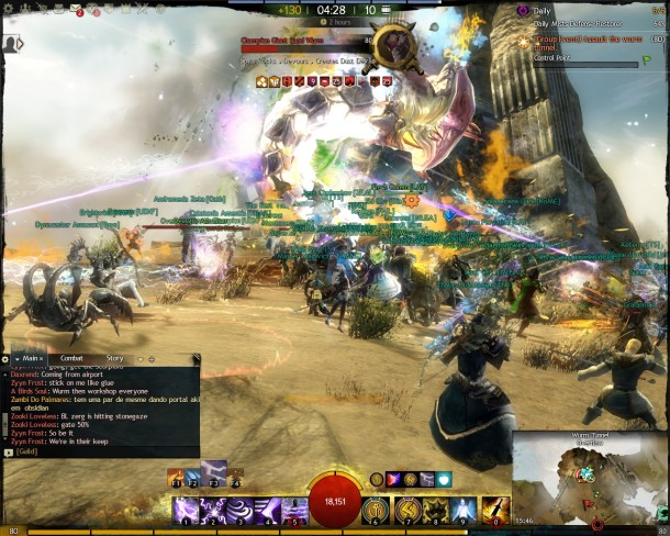 Guild Wars 2 - Edge of The Mists - PvP Combat Guardian