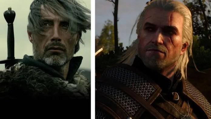 Mads Mikkelsen como Geralt em série de TV do The Witcher