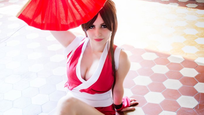 Cosplay da Mai Shiranui - The King of Fighters - Por LifeisaFiction Cosplay Index