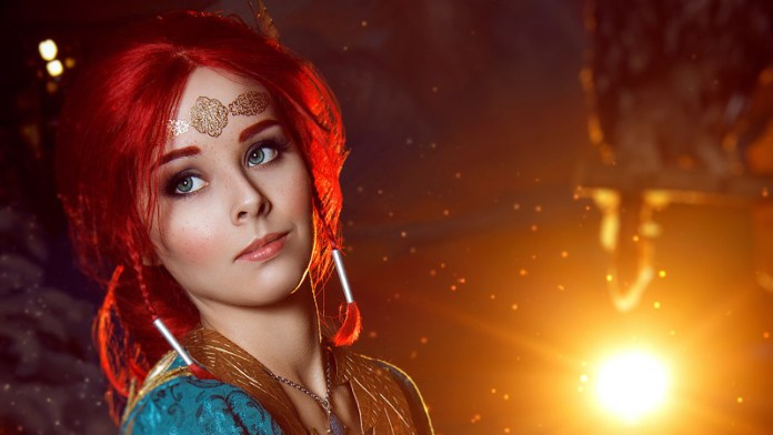 Triss Merigold Cosplay - The Witcher 3 - Por Helly Von Valentine Index