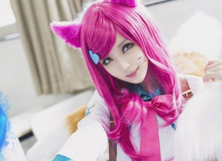 Cosplay Kawaii da Ahri - LoL - Topo