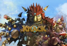 KNACK - PS4 KeyArt Screen