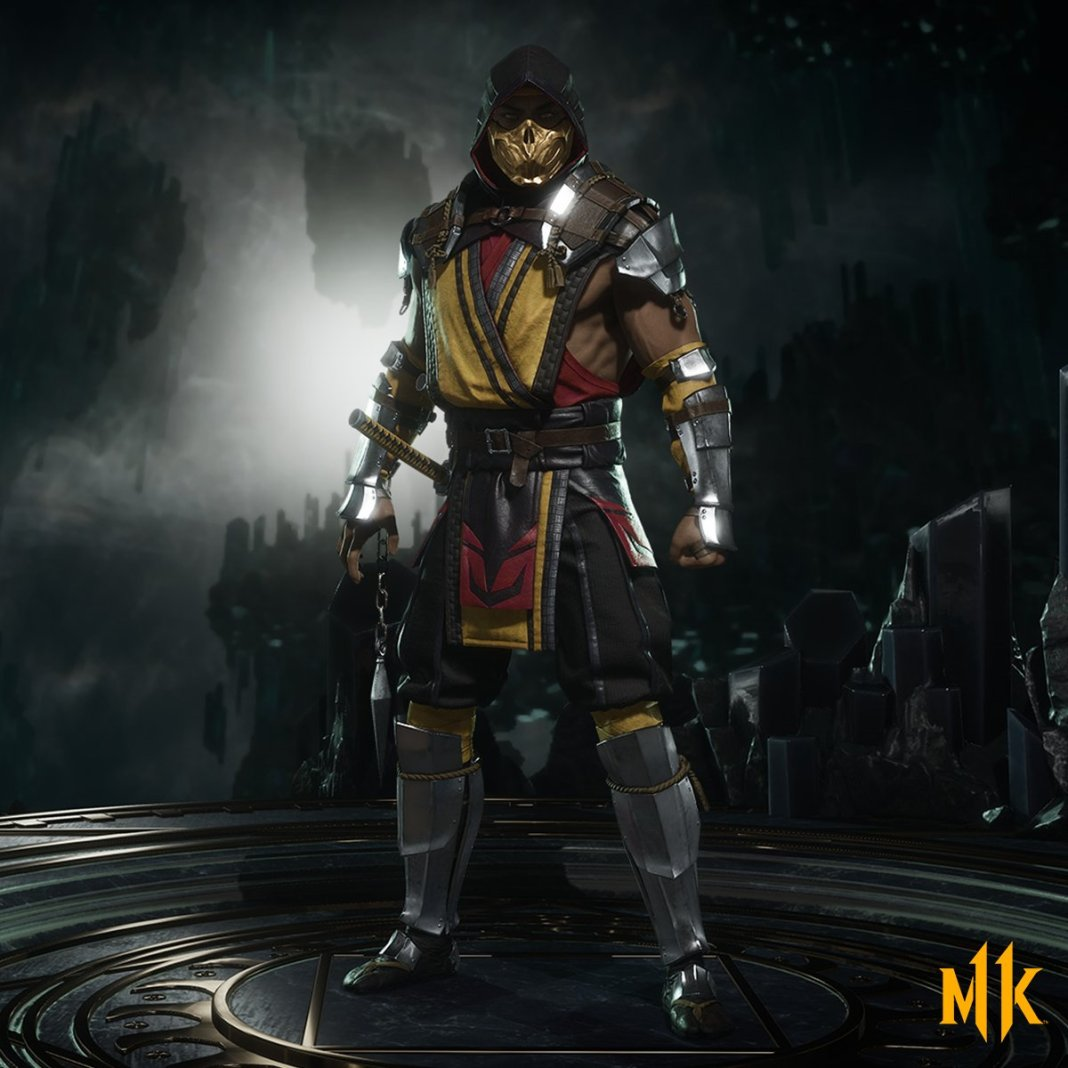 Scorpion em Mortal Kombat 11