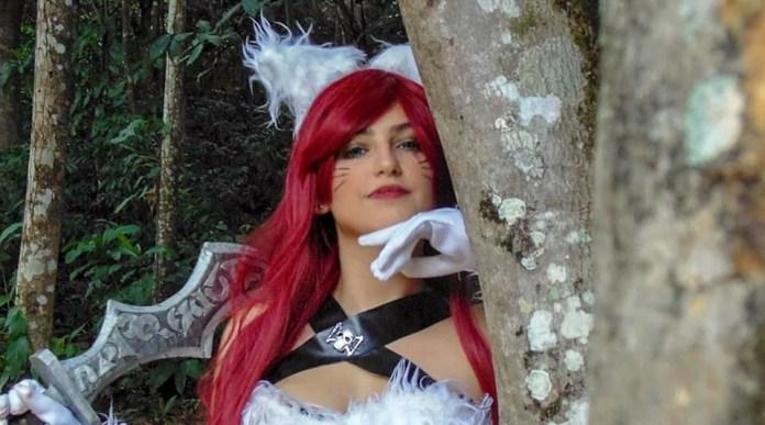 Kitty Kat Katarina Cosplay - League of Legends - LoL