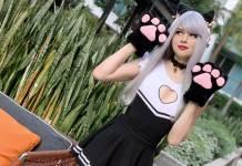 Pretty Kitty Sneaky - Cosplay do pro-player da Cloud9 para uma stream da Riot Games - League of Legends Banner