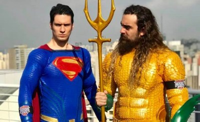 Cosplay: Veja caracterizações incríveis do Aquaman e do Superman, da DC Comics!