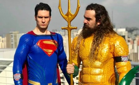 Aquaman e Superman - Cosplays da DC Comics