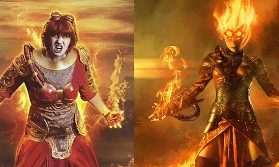 Chandra Nalaar - Magic The Gathering Cosplay Foto