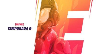 Novo teaser da Temporada 9 de Fortnite traz um personagem com capacete futurista!