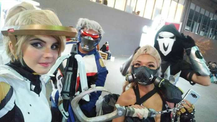 Cosplays de Overwatch no Anime Friends Rio - Foto