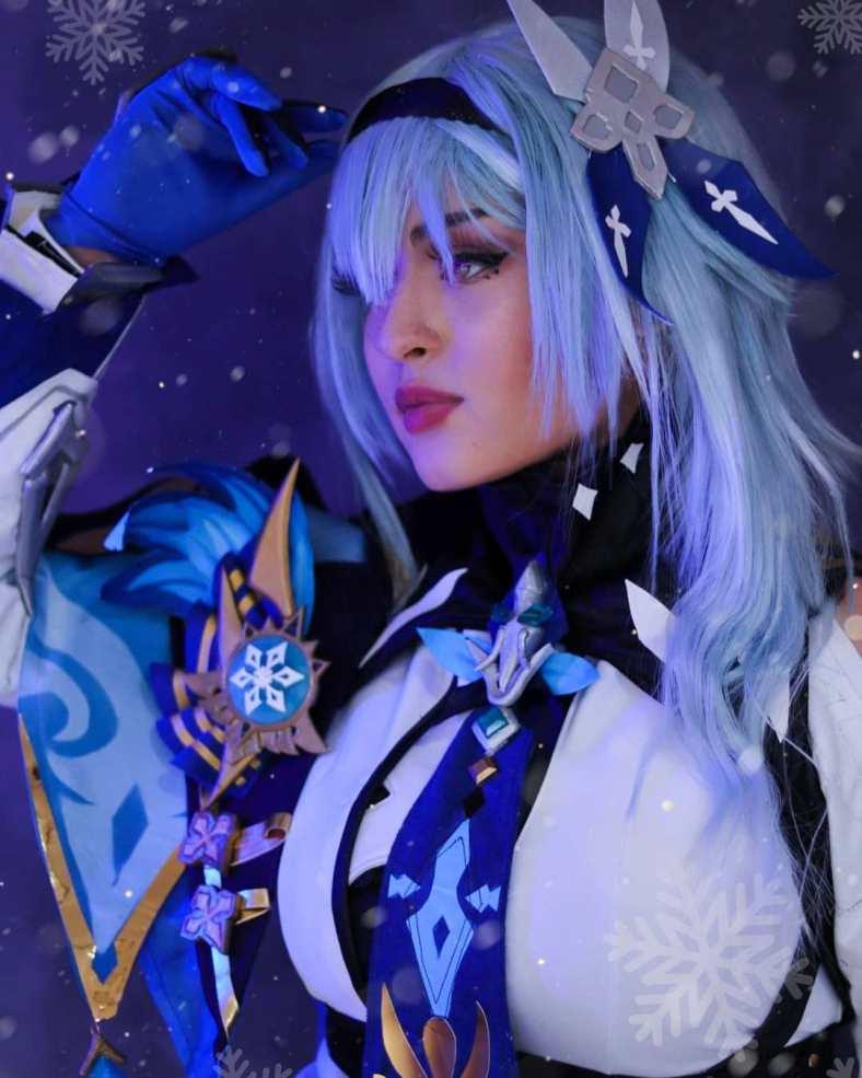Genshin Impact - Cosplay incrível da EULA - 01