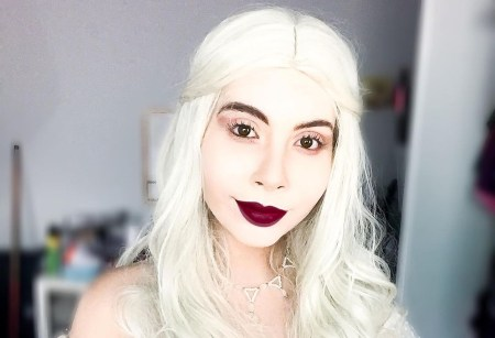 Cosplay da Rainha Branca - Capa