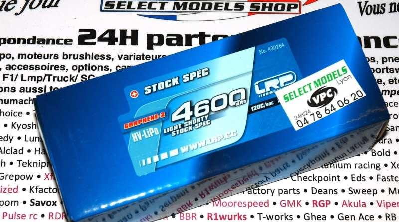 Shorty LRP 4600 120c graphene-2