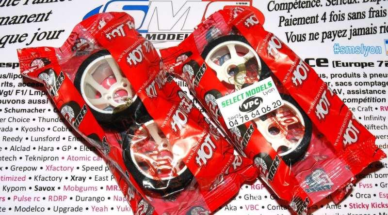 Pneus 1/12ème Hot race