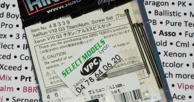 Vis Titane hiro seiko pour brushless Hw V10 G3