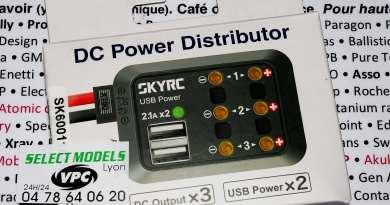 Mini répartiteur Sky rc, usb et 4mm