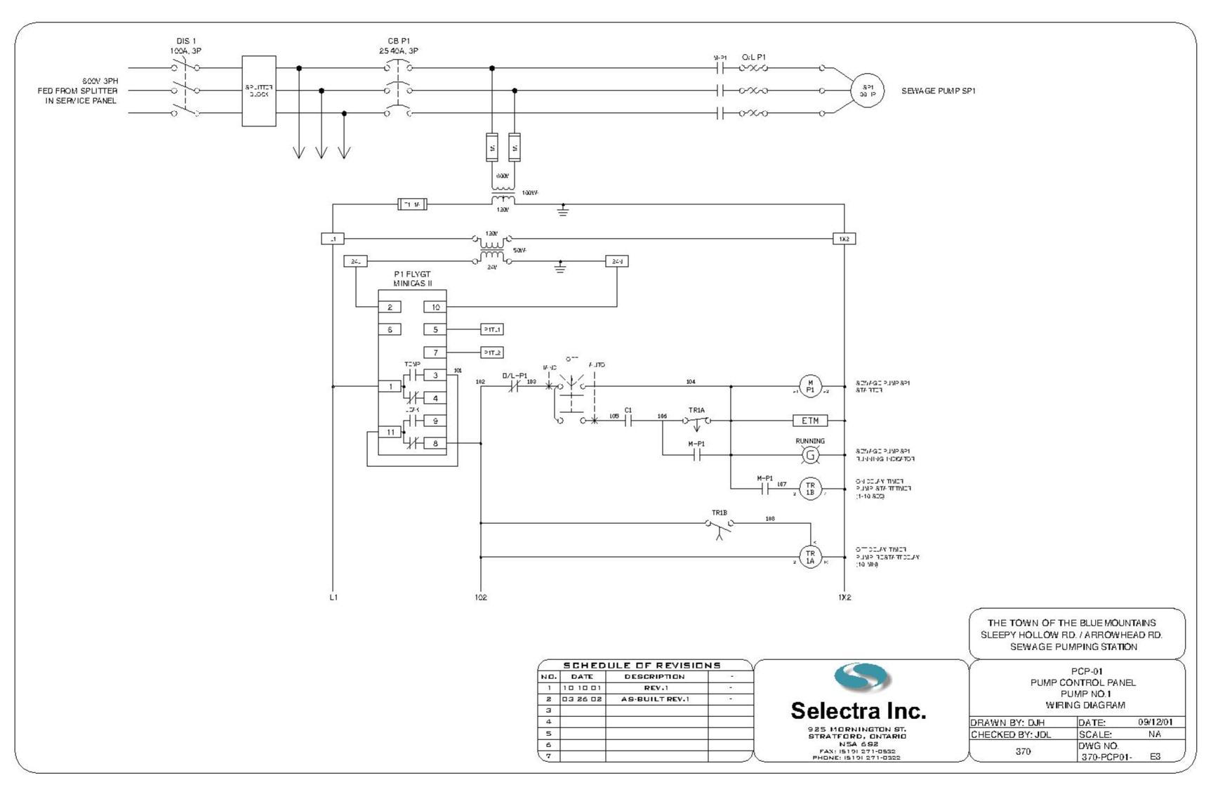 WRG-7297] Fire Pump Controller Wiring Diagram