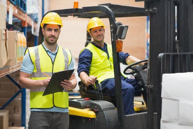 Pedestrian Safety Around Forklifts