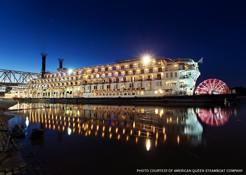 VICTORY FOR AMERICAN QUEEN