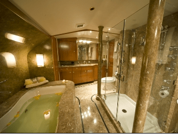 Luxury Charter Yacht My Colors Dual Master Ensuite