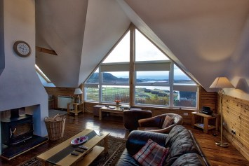 View of Summer Isles through Windyhill Cottage main window