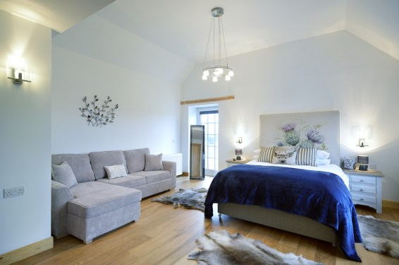 5 Star Romantic Self Catering Lodges in the Scottish Highlands Views