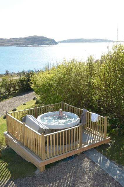 Windyhill Cottage Hot Tub