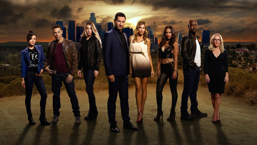 The season 2 cast of Lucifer