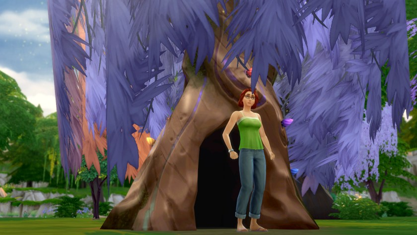 The mystical magic been portal tree in The Sims 4