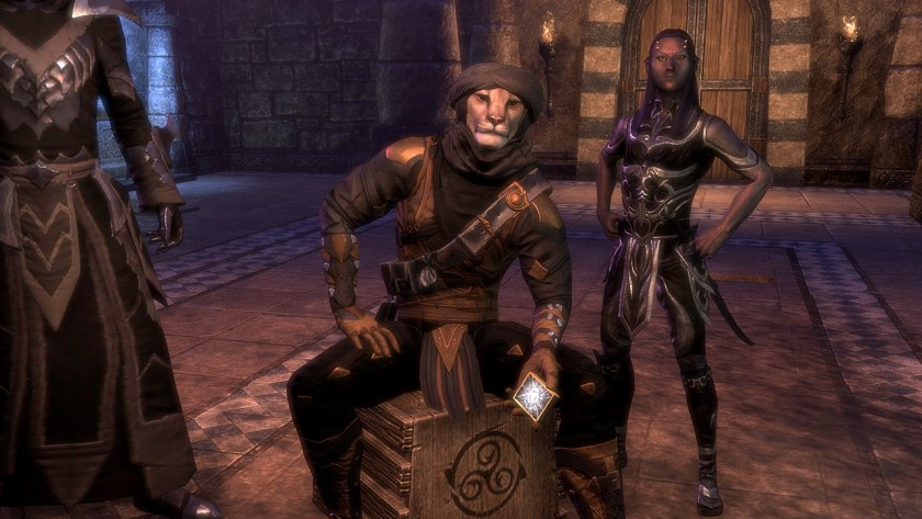 Pacrooti the Crown Crate pusher at Maelstrom Arena in The Elder Scrolls Online.
