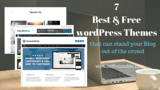 7 Free and Responsive WordPress Themes For 2018   Blogger's Choice