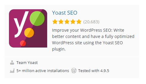 Yoast WordPress Plugins