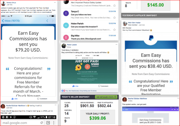 earn easy commission