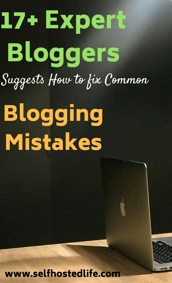 blogger mistakes and how to fix them